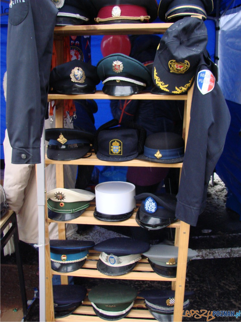 policyjne eksponaty  Foto: