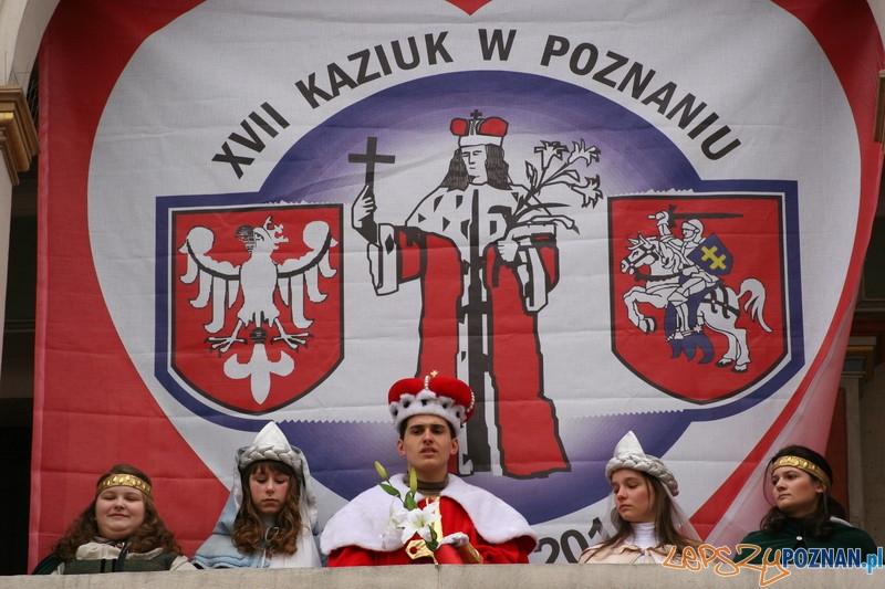 XVII Kaziuk w Poznaniu - św. Kazimierz z rodu Jagiellonów Patron Polski i Litwy   Foto: