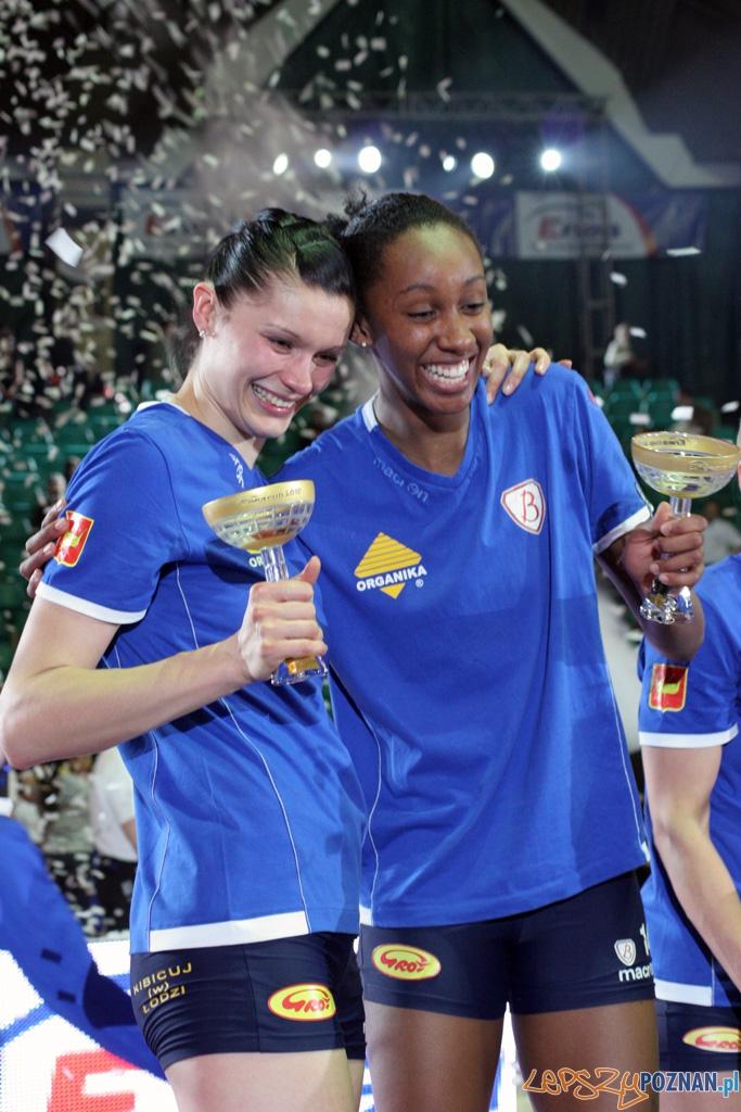Finał Enea Cup Pucharu Polski Kobiet - wręczenie  Foto: Piotr Rychter