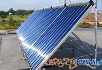 zestaw solarny na plaski dach   Foto: