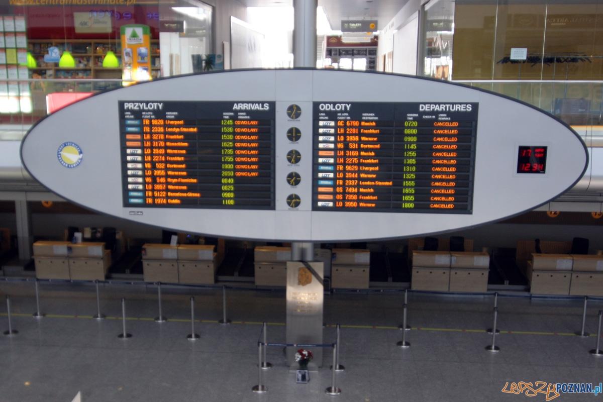 Lotnisko Ławica  Foto: lepszyPOZNAN.pl