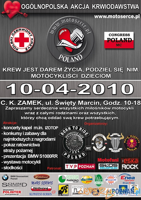 Motoserce 2010 Poznań  Foto: