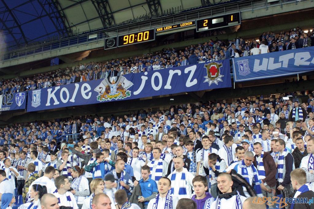 KKS Lech Poznań - Lechia Gdańsk 2:1 (28.04.2010 r.)  Foto: Piotr Rychter