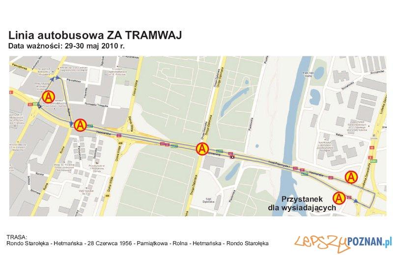 grafika: MPK - hetmanska linia za tramwaj  Foto: