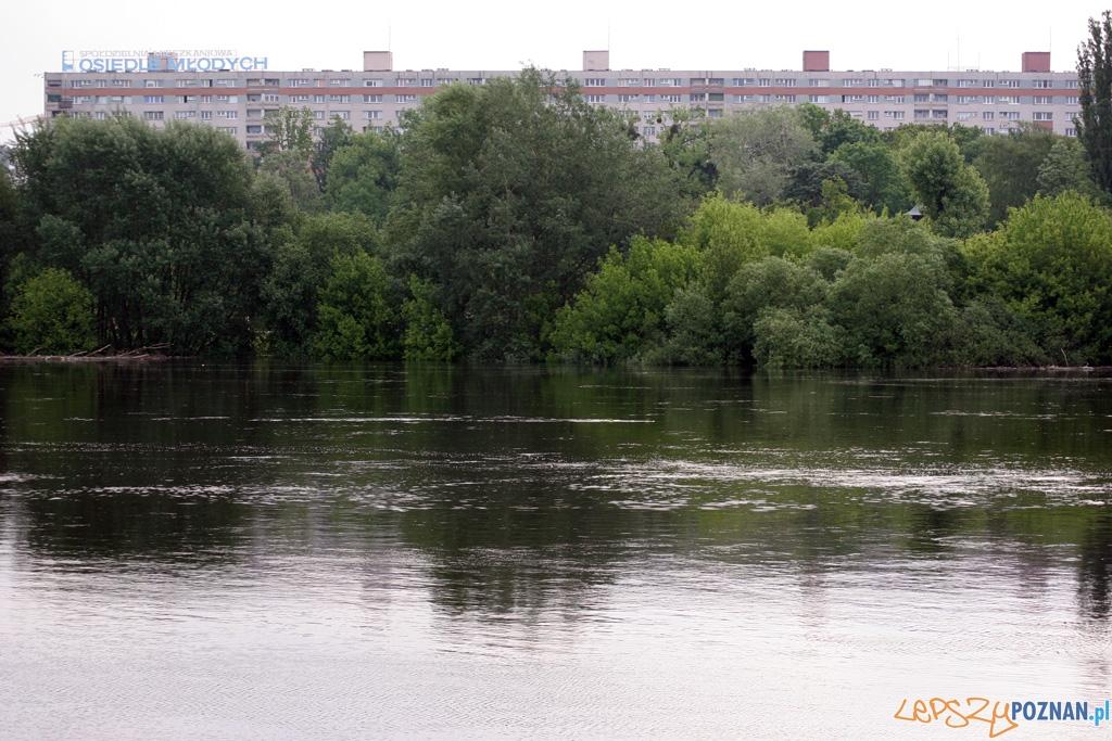 foto: lepszyPOZNAN - fala kulminacyjna - okolice klubu KW'04  Foto: