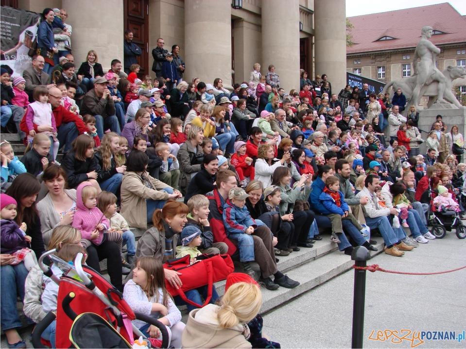 dzień dziecka w teatrze pod chmurką  Foto: lepszyPOZNAN.pl / ag