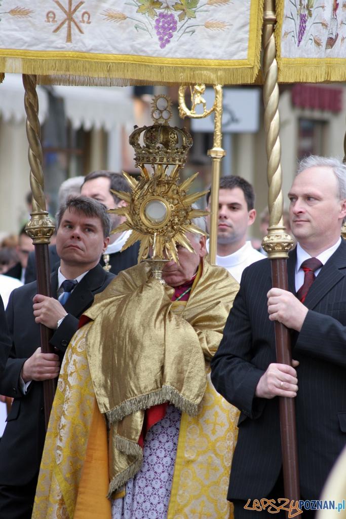 Uroczystość Najświętszego Ciała i Krwi Chrystusa - 3.06.2010 r.  Foto: Piotr Rychter