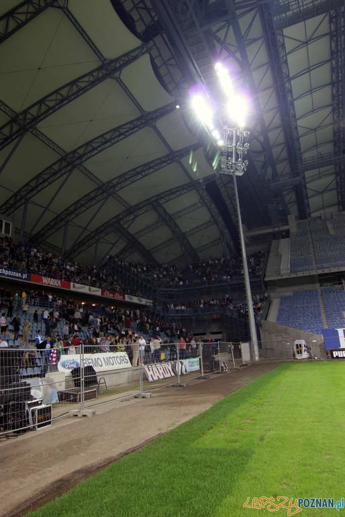 Noc świętojańska na stadionie miejskim 23.06.2010 r.  Foto: Piotr Rychter