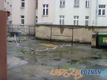 Podwórko przy ulicy Małeckiego 23  Foto: all for planet