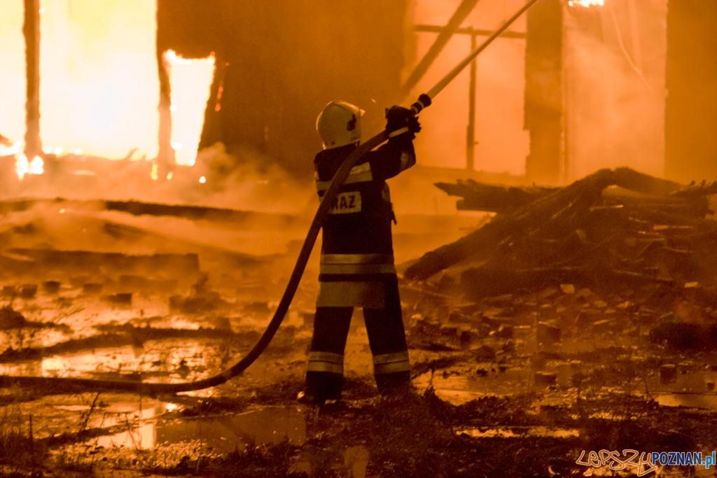 Pożar w centrum Poznania (archiwum redakcji)  Foto: lepszyPOZNAN.pl / Piotr Rychter