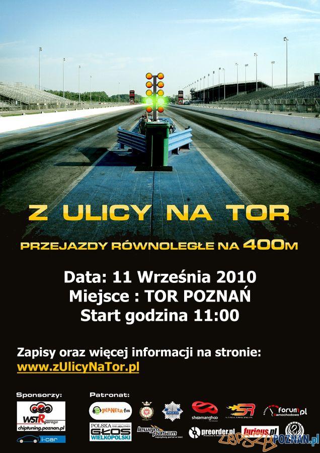 Z Ulicy Na Tor na Torze Poznań  Foto: www.zulicynator.pl
