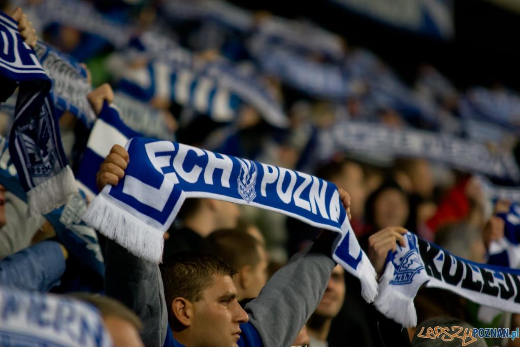 Lech Poznań - FC Zalzburg - Stadion Miejski 30.09.2010 r.  Foto: Piotr Rychter