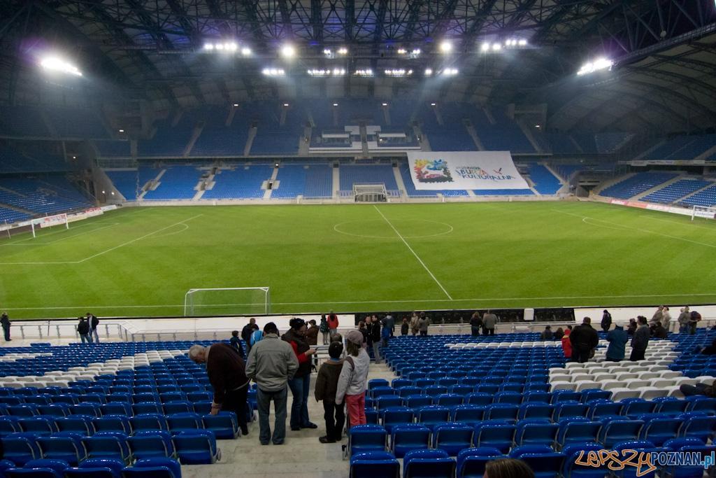 Poznańskie Otwarcie Stadionu - 8.10.2010 r.   Foto: Piotr Rychter