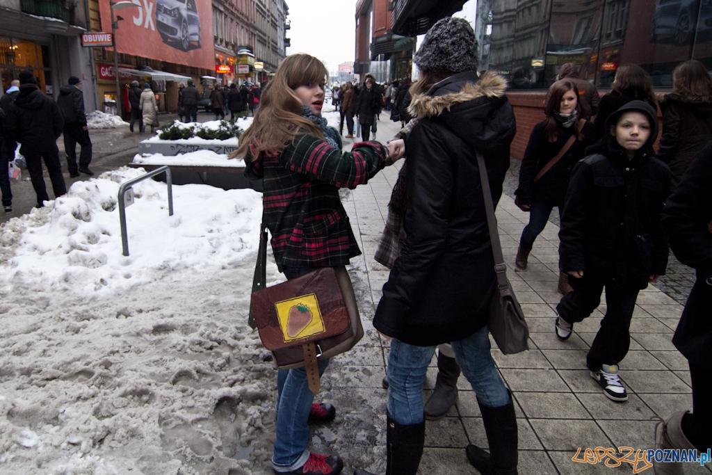 Flash Mob na deptaku  Foto: Piotr Rychter