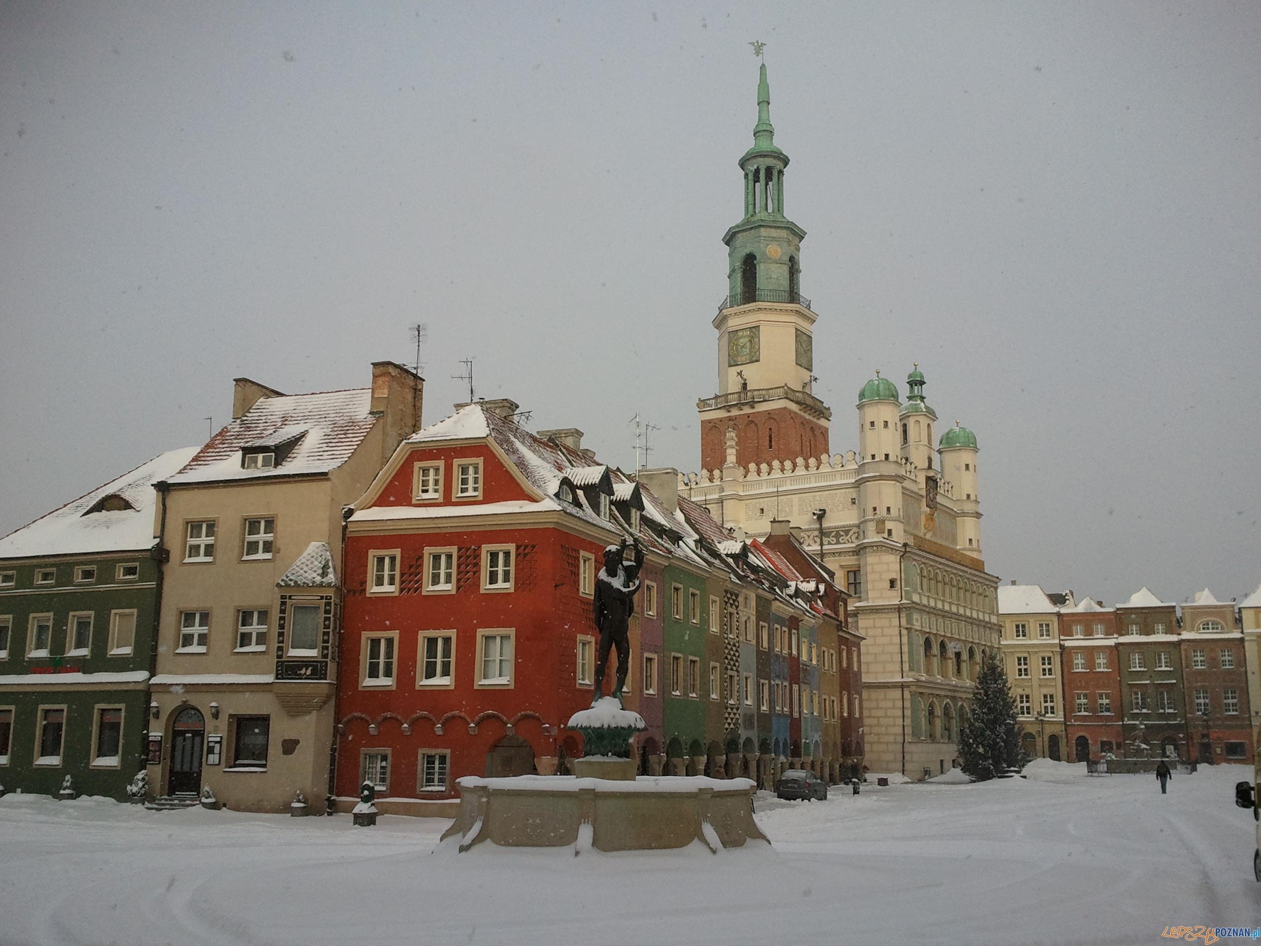 Stary Rynek wygląda malowniczo  Foto: Piotr