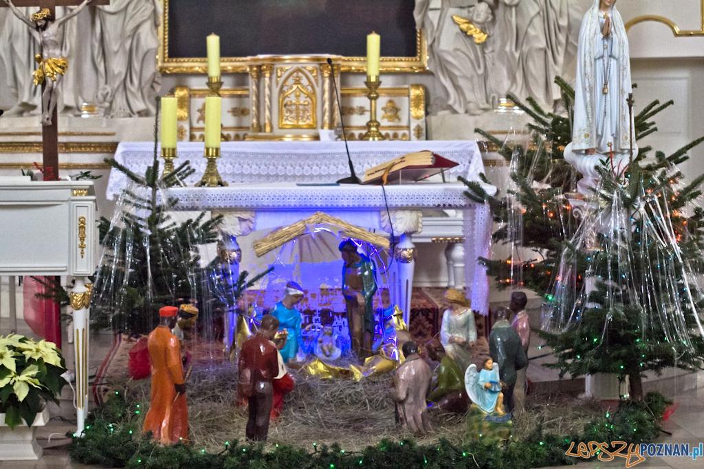 Szopki bożonarodzeniowe - Kościół pw. Wszystkich Świętych  Foto: Piotr Rychter