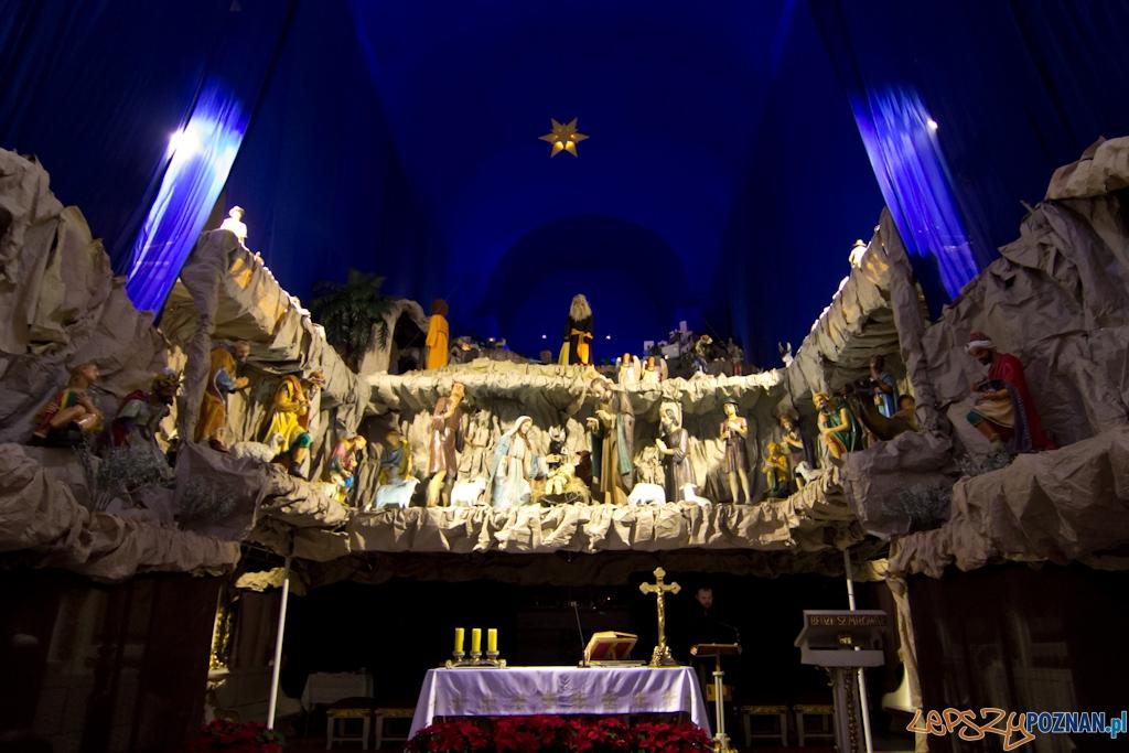 Szopki bożonarodzeniowe - Kościół św. Franciszka Serafickiego (bernardynów)  Foto: lepszyPOZNAN.pl / Piotr Rychter