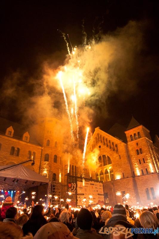 XIX finału WOŚP - CK Zamek - 09.01.2011 r.  Foto: lepszyPOZNAN.pl / Paweł Rychter