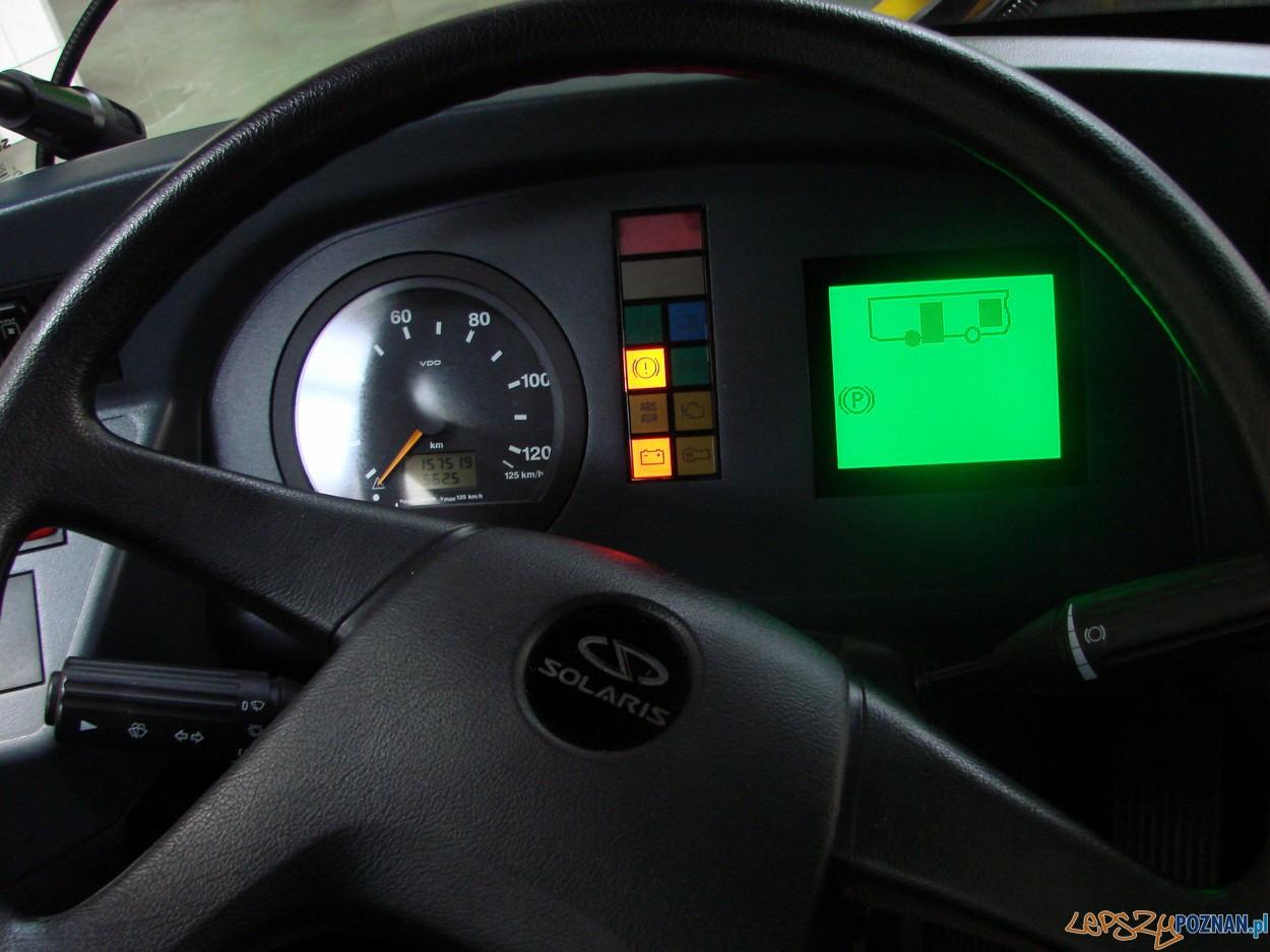 wygodna kabina kierowcy  Foto: lepszyPOZNAN.pl / ag
