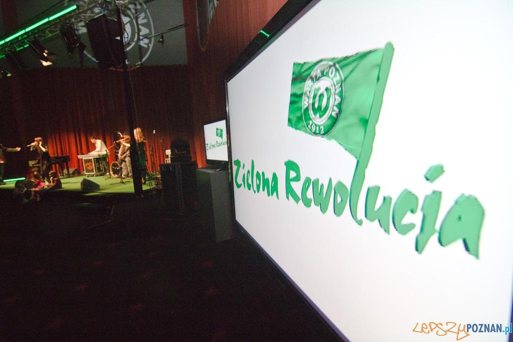Zielona Rewolucja - Prezentacja zawodników Warty Poznań  Foto: lepszyPOZNAN.pl / Piotr Rychter