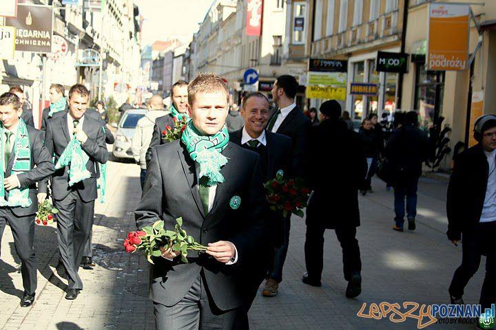 Dzień Kobiet na zielono  Foto: KS WARTA