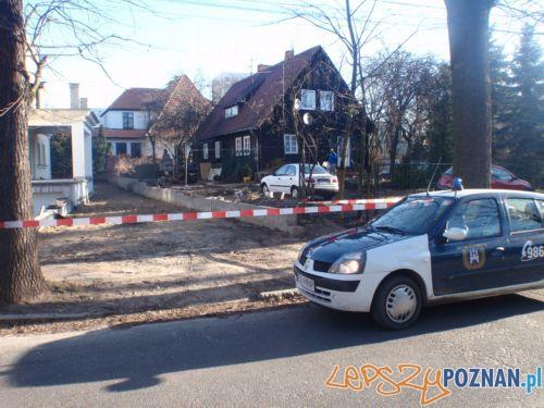 Bomba na Mazowieckiej  Foto: Straż Miejska w Poznaniu