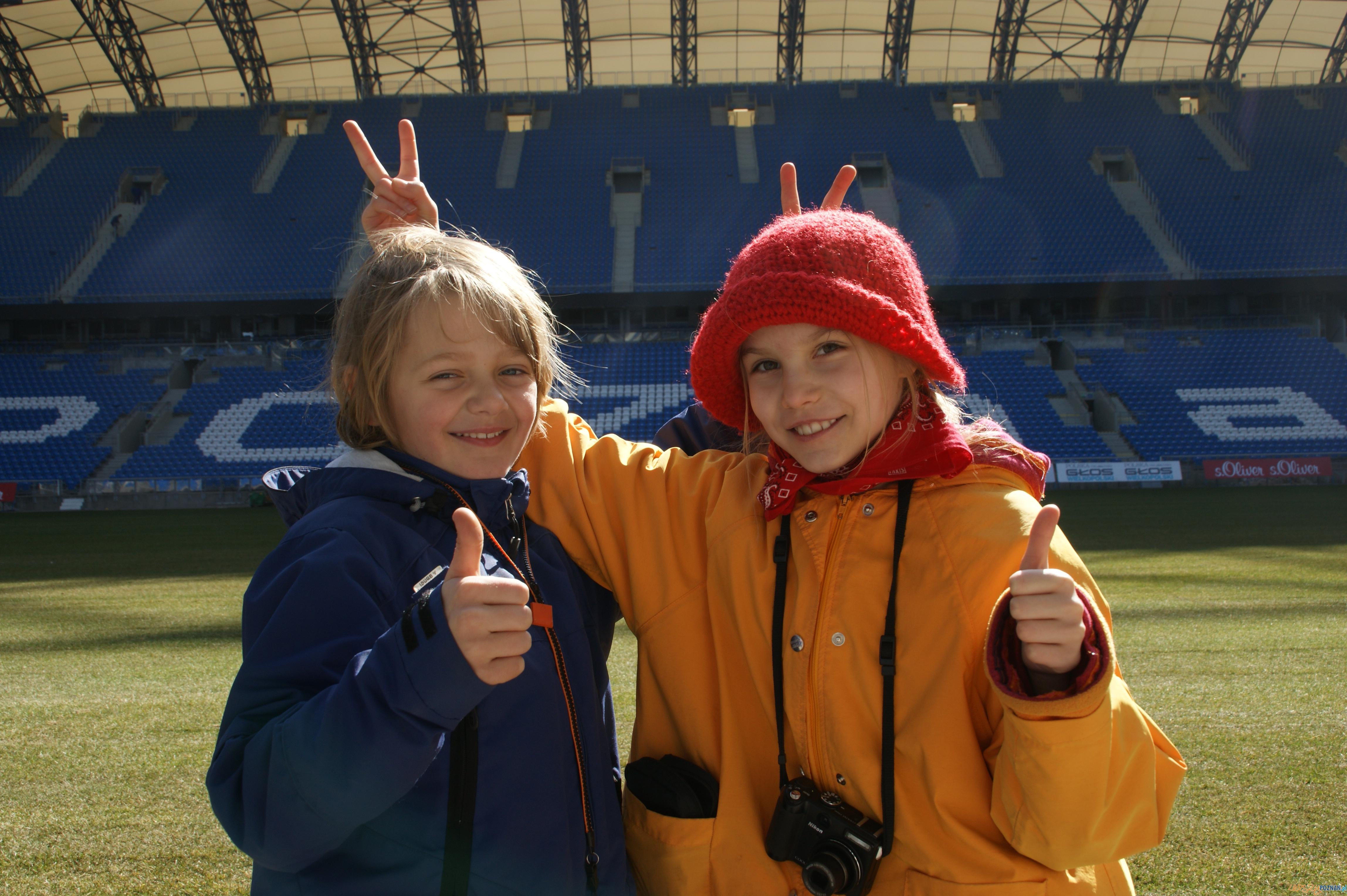 Zwiedzanie Stadionu Miejskiego w Poznaniu  Foto: EURO Poznań 2012