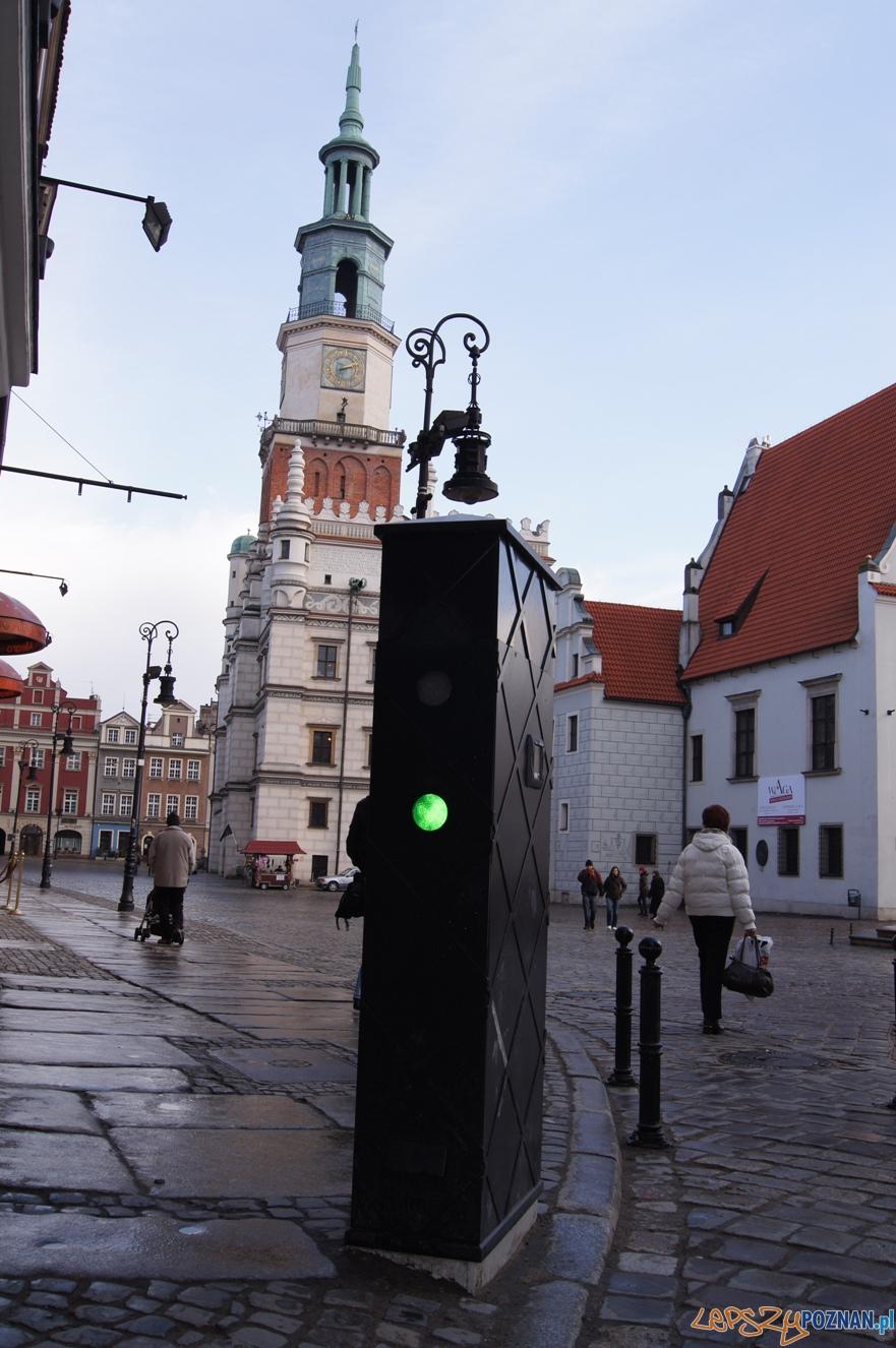 Blokada na Starym Rynku_Rynkowa  Foto: ZDM Poznań