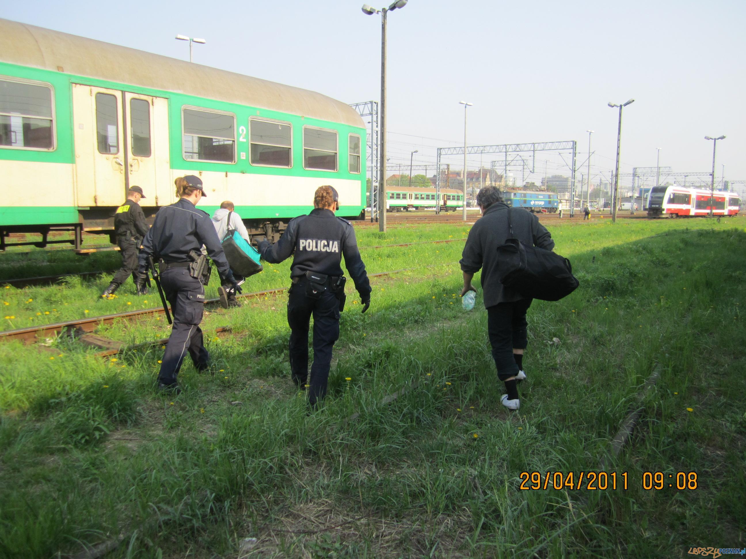 Zatrzymani na gorącym uczynku  Foto: KWP w Poznaniu