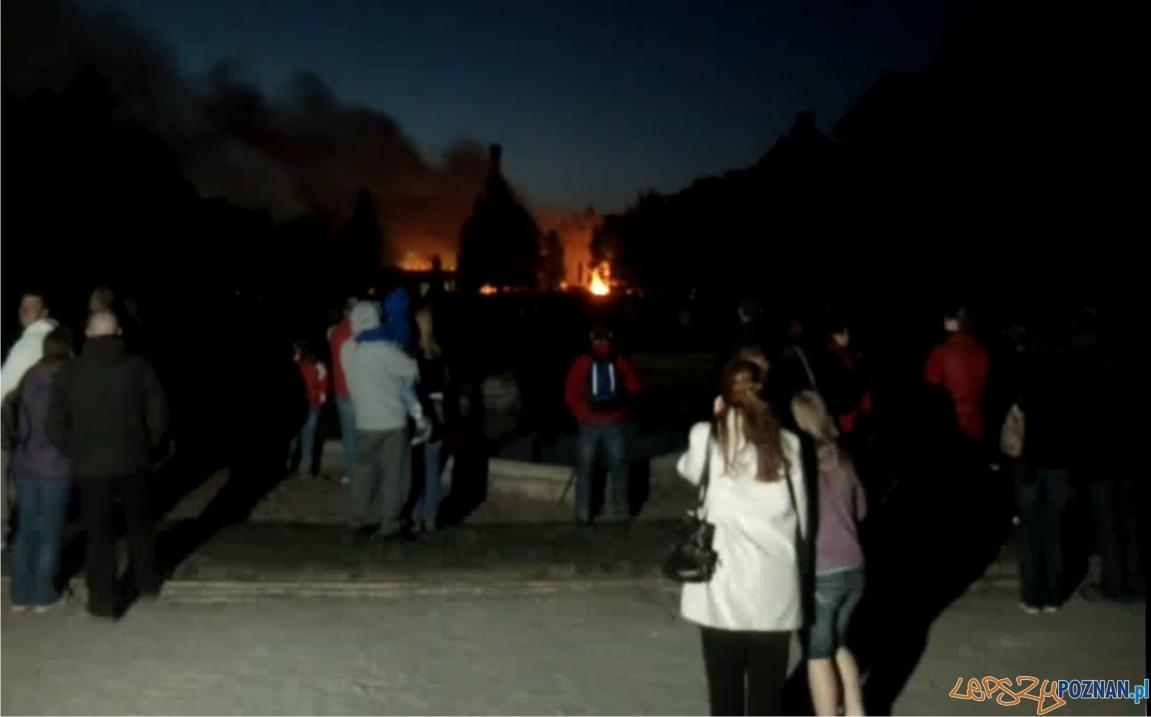 Pożar w Parku Wilsona  Foto: moeru88