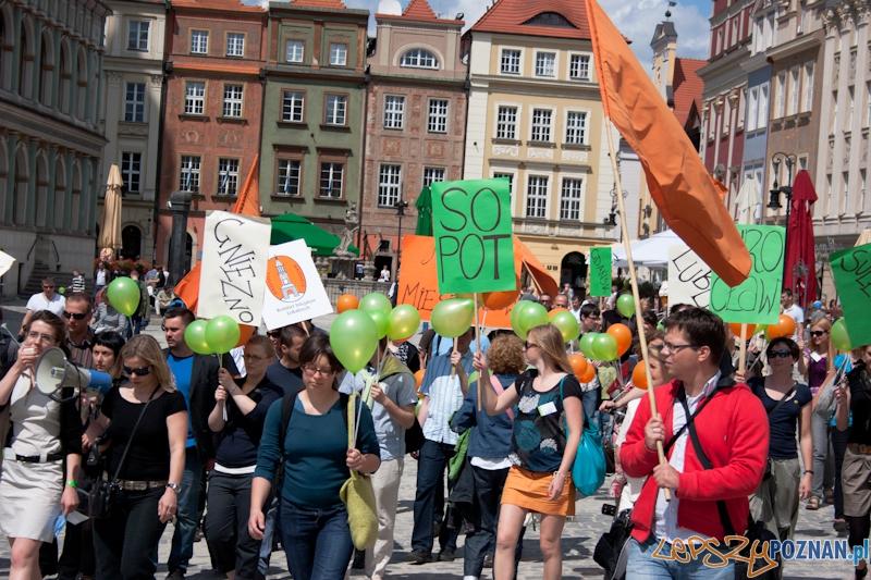 Kongres Ruchów Miejskich - Poznań 19.06.2011 r.  Foto: LepszyPOZNAN.pl / Paweł Rychter