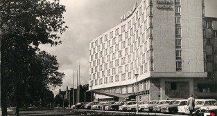 Hotel Merkury, koniec lat 60-tych  Foto: fotopolska