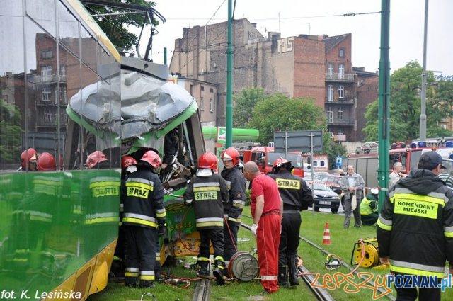 Zderzyły się bimby  Foto: MPK / K. Lesińska