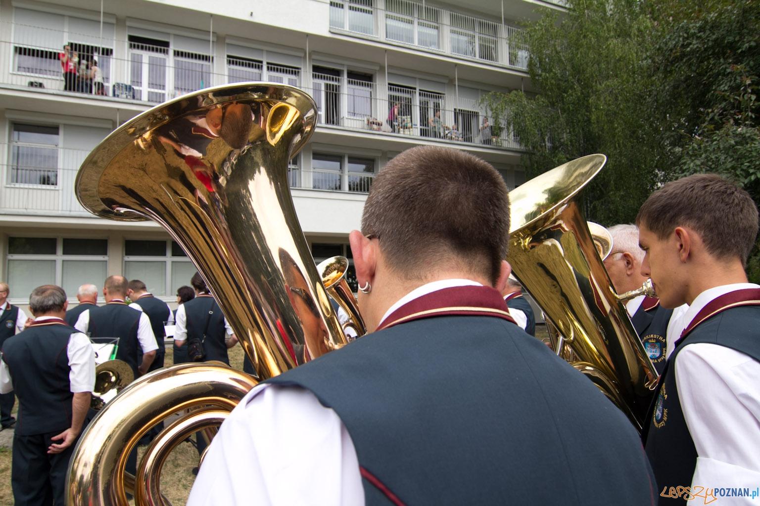 Festyn w szpitalu przy ul. Szpitalnej  Foto: lepszyPOZNAN.pl / Piotr Rychter