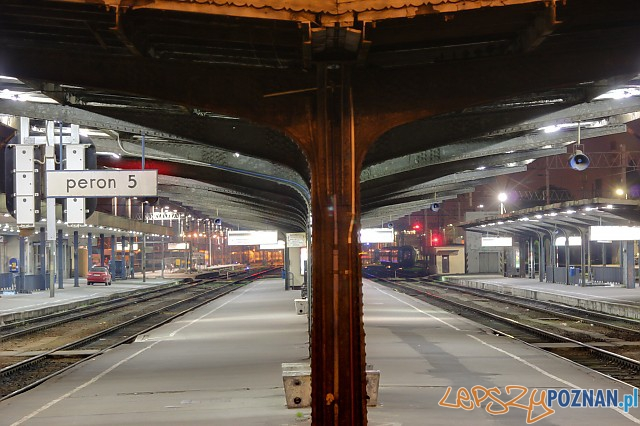 Dworzec Główny w Poznaniu  Foto: lepszyPOZNAN.pl / Piotr Rychter