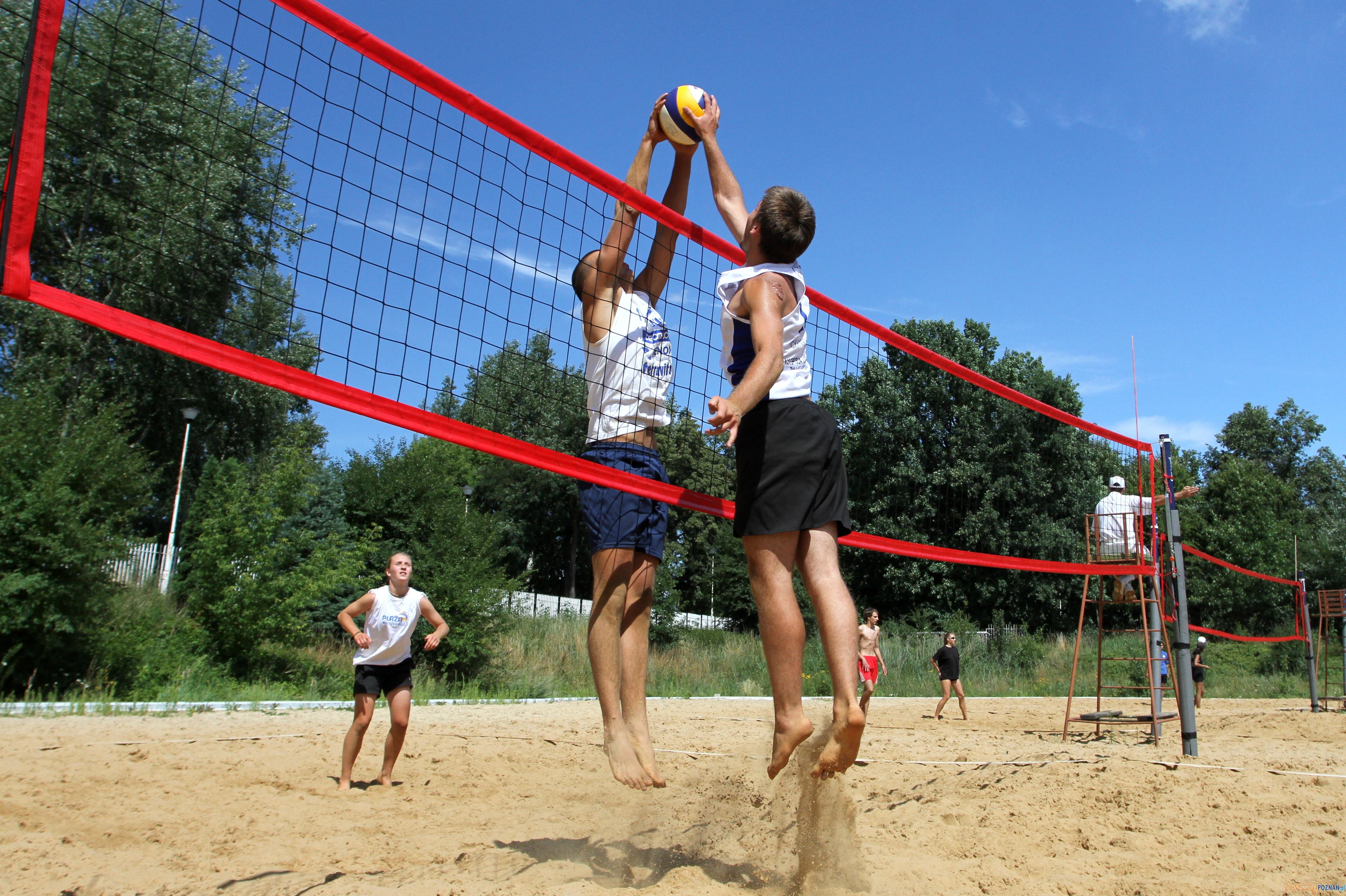 Piłka plażowa  Foto: POSiR