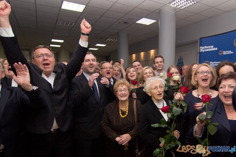 Poznański Sztab Wyborczy Platformy Obywatelskiej  Foto: lepszyPOZNAN.pl / Piotr Rychter