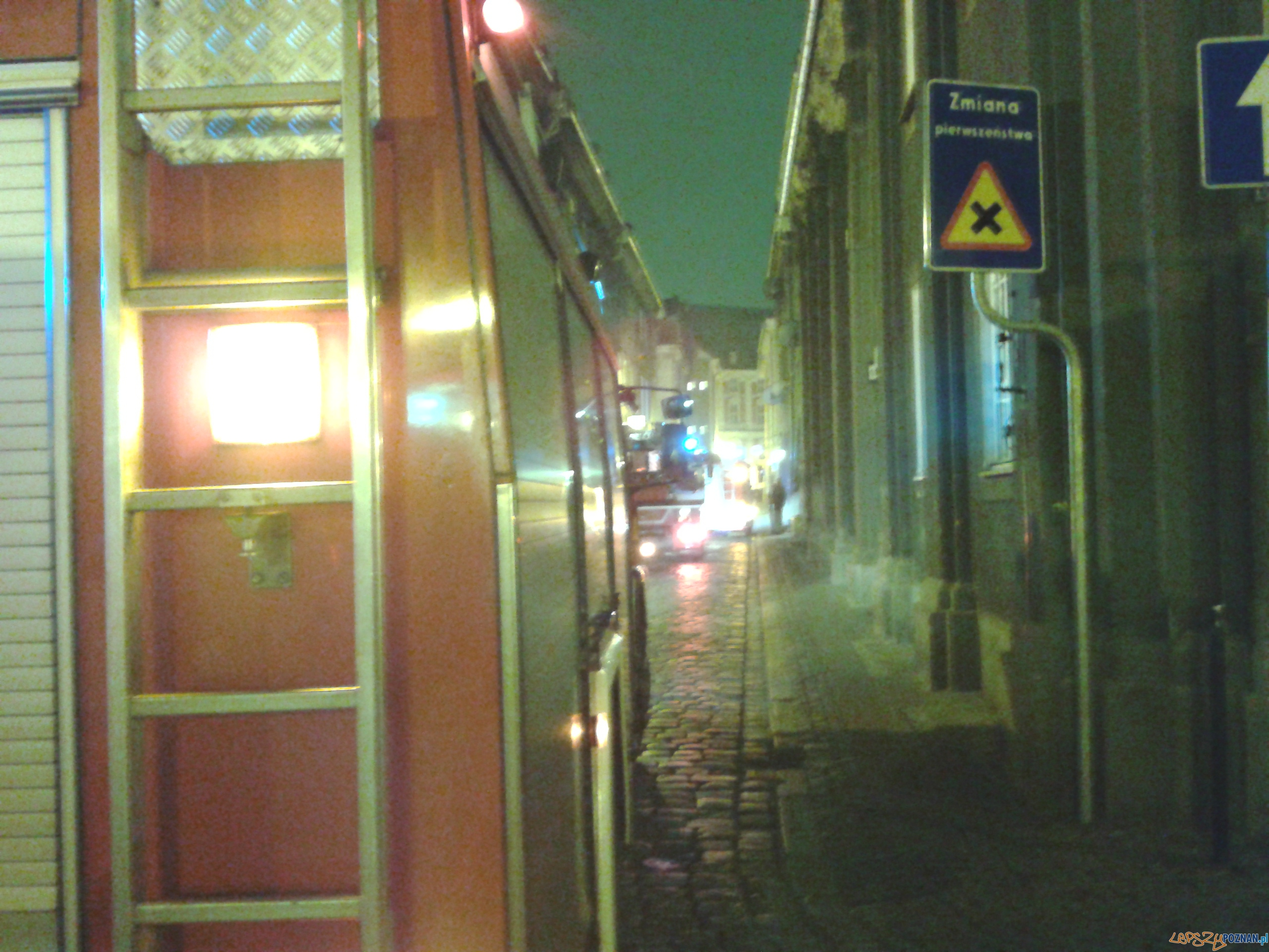 Straż na Ślusarskiej  Foto: lepszyPOZNAN.pl/gsm