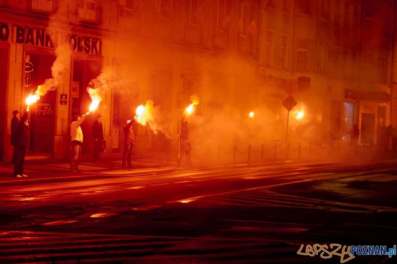 Wiara Lecha oddaje cześć Powstańcom Wielkopolskim - Poznań 27.12.2011 r.  Foto: LepszyPOZNAN.pl / Paweł Rychter