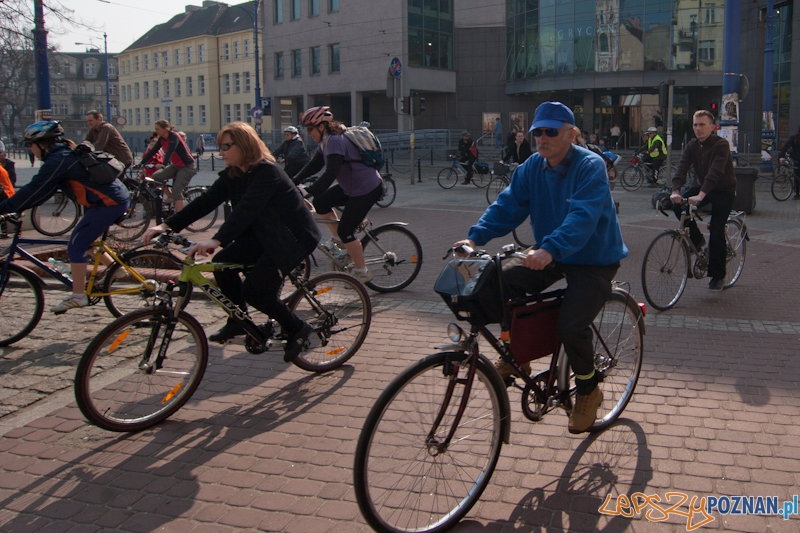 Rozpoczęcie sezonu rowerowego 2012  Foto: LepszyPOZNAN.pl / Paweł Rychter