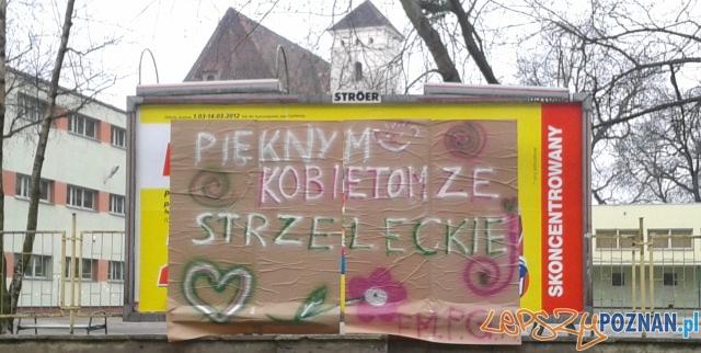 8 marca na Strzeleckiej  Foto: lepszyPOZNAN.pl / gsm