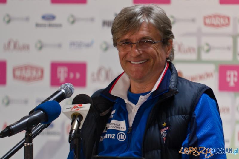 Trener Górnika Zabrze -  Adam Nawałka  Foto: lepszyPOZNAN.pl / Piotr Rychter