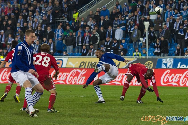 Ćwierćfinał Pucharu Polski - Lech Poznań - Wisła Kraków - Poznań 13.03.2011 r.  Foto: lepszyPOZNAN.pl / Piotr Rychter