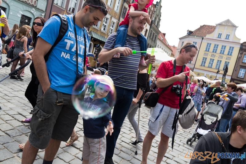 Bańki Mydlane Stary Rynek  Foto: lepszyPOZNAN.pl / Piotr Rychter