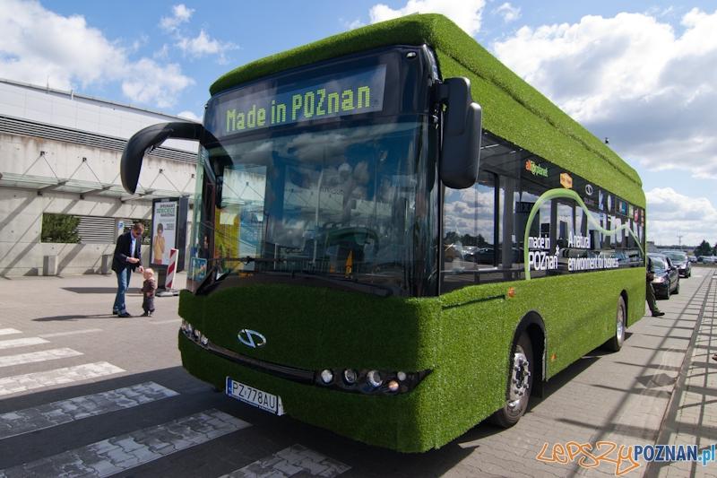 Solaris Urbino Electric na Ławicy - Poznań 02.06.2012 r.  Foto: lepszyPOZNAN.pl / Paweł Rychter