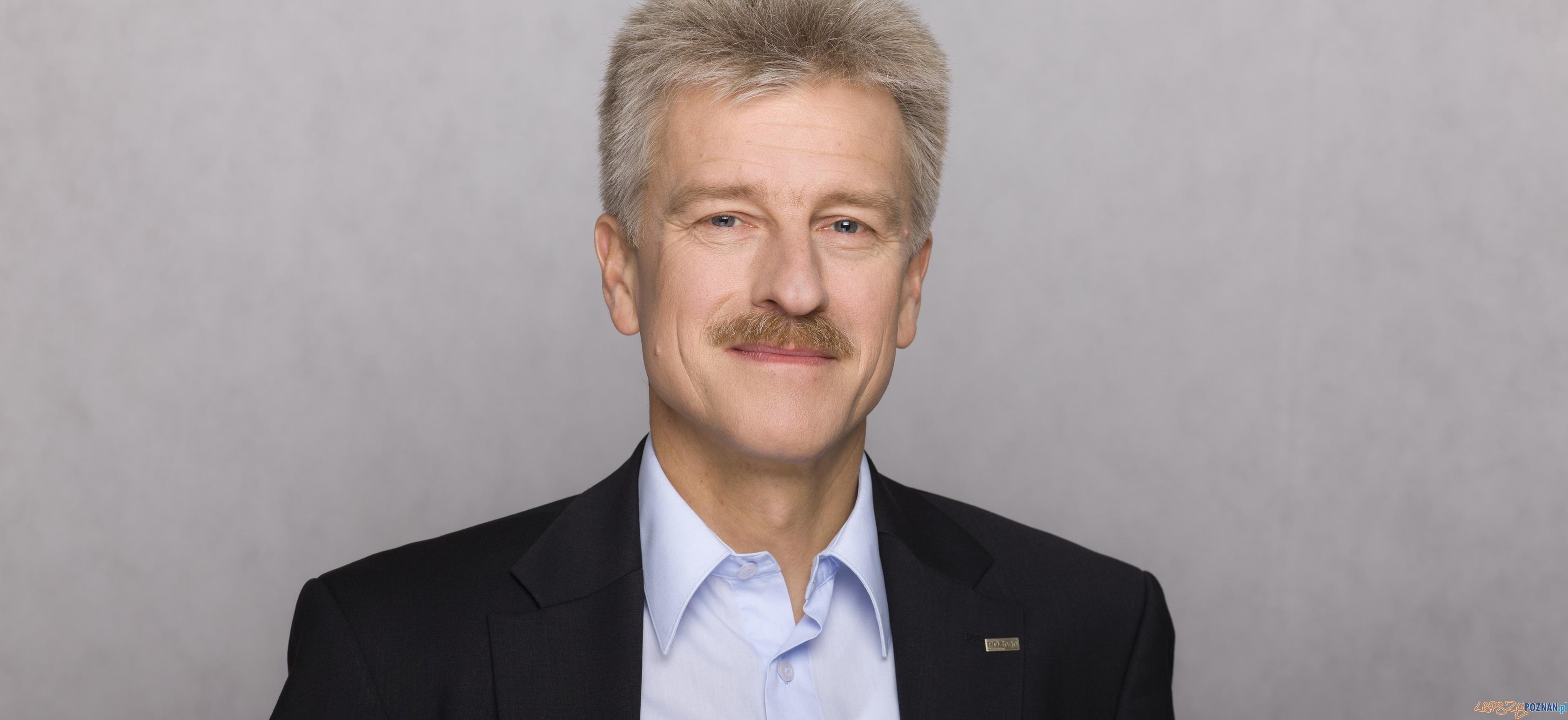 Ryszard Grobelny  Foto: Urząd Miasta Poznania