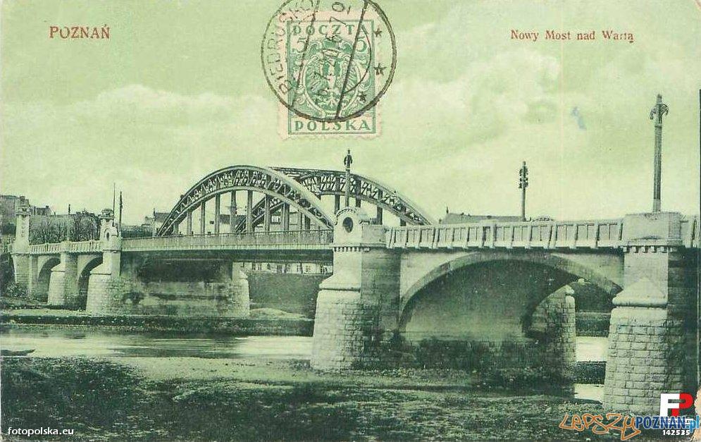 Most Rocha, kartka z 1920 roku  Foto: