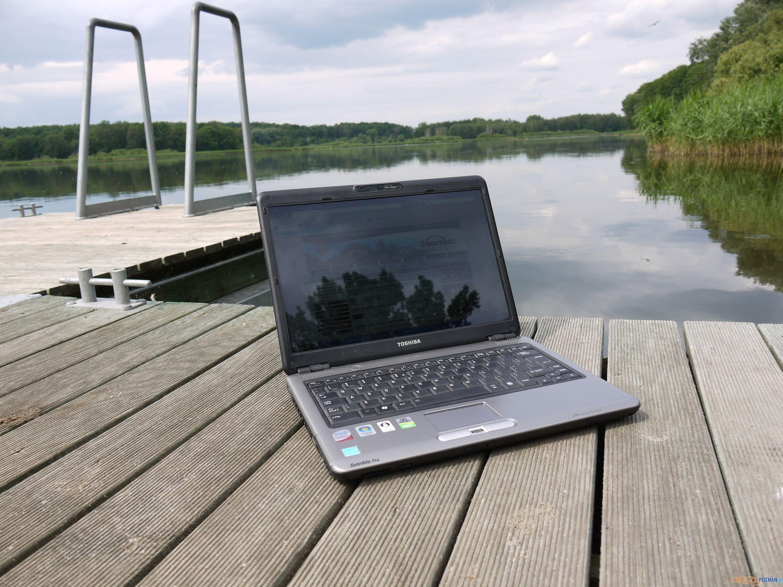 internet nad jeziorem  Foto: UMiG w Swarzędzu
