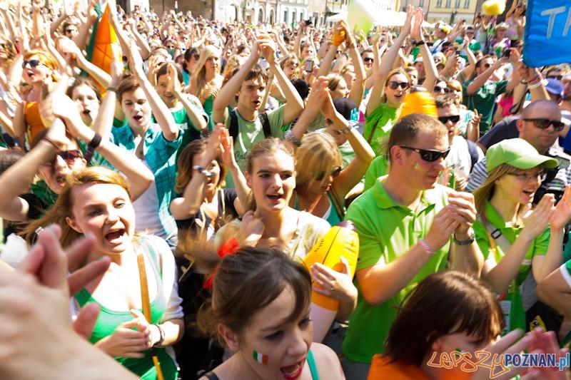 You'll never beat the Irish - Stary Rynek   Foto: lepszyPOZNAN.pl / Piotr Rychter