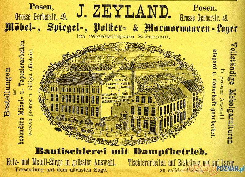 Fabryka Zylanda - Grosse Gerberstr 49  Foto: Muzeum Narodowe w Poznaniu, wystawa Miejska ikonosfera na drukach reklamowych z widokami Poznania 18